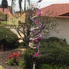 Rainbow Spiral Sun Catcher Glass Bead Wind Spinner   Bohemian Hanging Beaded Suncatcher For Windows  Nurse Gift Idea   Teacher Gift Under 50