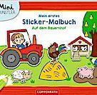 Die Spiegelburg Mein 1. Sticker-Malbuch - Auf dem Bauernhof