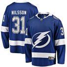 Men's Fanatics Branded Anders Nilsson Blue Tampa Bay Lightning Home Breakaway Jersey