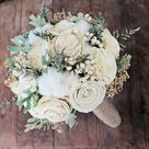 Cotton Wedding Bouquets