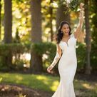 Long Sleeved Wedding Dress with Open Back   Stella York Wedding Dresses