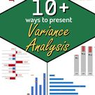 10+ ways to make Excel Variance Reports and Charts – How To
