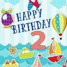 Buon Compleanno 2 Anni Bimbo