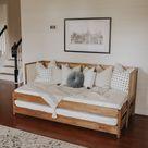 DIY Caned Sofa Daybed Ikea Hack — Megan Bell