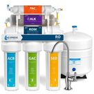 Express Water Express Water Reverse Osmosis Alkaline Water Filtration System – 10 Stage RO Water Filter with Faucet and Tank – 50 GPD ROALK5D   The Home Depot