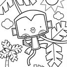 Free & Easy To Print Monkey Coloring Pages