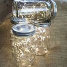 Wide Mouth Mason Jars