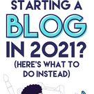 Blogging Isn't Dead, But Is It Still Worth It? - Here's Secret of Blogging in 2021!!