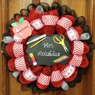 Teacher Wreaths