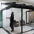 Stylish Stackable Glass Doors