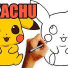 Wie zeichne Pikachu - PIKACHU Zeichnung Mit Bleistift - Ausmalbilder Pokemon