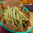 Baked Parm Green Bean Fries