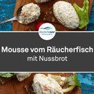 Mousse vom Räucherfisch mit Nussbrot