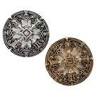 Viking disc fibula troendelag in Borre style