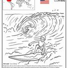 Hawaii Surfing | Worksheet | Education.com