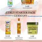 Confused what Curly Girl Products to buy Here is a Curly Starter Pack for Germany