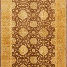 Peshawar Ziegler Brown 6x9 Area Rug