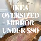 IKEA  OVERSIZED MIRROR UNDER $80