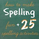 Spelling Ideas