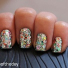 Confetti Nails