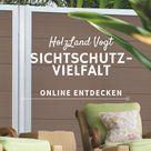 Sichtschutzzaun-Vielfalt online im Shop entdecken!
