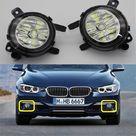 USD$20.79 Car LED Light For BMW 3 Series F30 F31 F34 320i 328i 328d 335i 2012 2013 2014 2015 2016 Car Styling Front LED Fog Light Fog Lamp