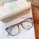Transparent Glasses Anti Blue Light Glasses Frame Women Eyeglass Frame Computer Glasses Vintage Eyeglasses Transparent Frame
