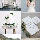 Simple & Chic Organic Minimalist Weddings Ideas for Non-Traditional Brides - Elegantweddinginvites.com Blog