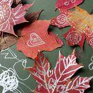 Leaf Drawing
