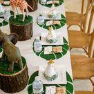 Wild One Safari Birthday Party