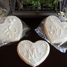 50th Anniversary Cookies