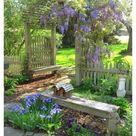 cottage garden design farmhouse rustic