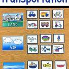 Transportation Sorting Activity