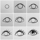 22 Eye Drawing Ideas and Tutorials - Beautiful Dawn Designs