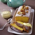 Mandel-Vanille-Blitzkuchen mit Rum-Sahne QimiQ Rezept  | LECKER