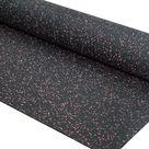 Fleckz Premium Rubber Gym Flooring Roll - Various Colours - 8mm / Red