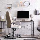Schreibtisch mit Lamellenwand selber bauen | Anleitung von HORNBACH