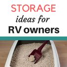 7 Places to Store a Litter Box in an RV   RV Inspiration