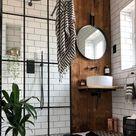 Łazienki w stylu boho industrial   jakie wybrać płytki, kolor ceramiki oraz baterię   IH   Internity Home
