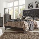 Paxberry Black Panel Bedroom Set - 4-Piece Queen (QB-D-M-N)