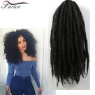 5.24US $ |18 inch Afro Kinky Twist Braid Hair  Synthetic Afro Kinky Curly Marley Hair Afro Textured Weave Hairstyles For braiding Hair|kinky twist|afro kinky twisthair synthetic - AliExpress