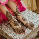 Beautiful Mehendi design   Miheeka Bajaj   Wedding.india