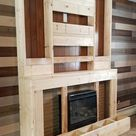 How to Build a Faux Fireplace DIY