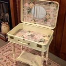 How to Make A Suitcase Vanity DIY