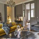 Zwei Trendfarben 2021  ultimatives Grau und leuchtendes Gelb frischen das Interieur auf   Fresh Ideen für das Interieur, Dekoration und Landschaft