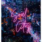 'Soul City' Canvas Print by Ohhjinjja