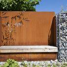 Sichtschutz für den Garten aus Cortenstahl, Edelstahl & in RAL Farbe | Paras