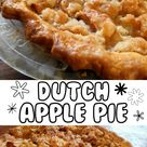 Easy Dutch Apple Pie with Crumb Topping Recipe