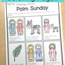 Free Holy Week Activities Coloring Pages