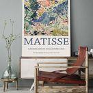Henri Matisse Poster, Matisse Wall Art, Henri Matisse Inspired Exhibition Poster, Landscape At Collioure Poster